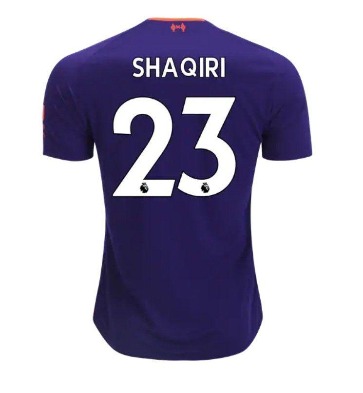 Xherdan Shaqiri 23 Liverpool 2018 2019 Away Jersey By New Balance White New