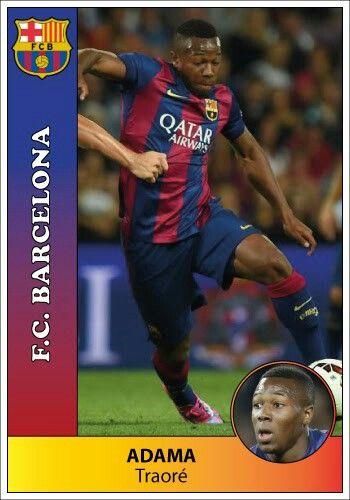 Barcelona Adama Traore Visca Barca Futbol
