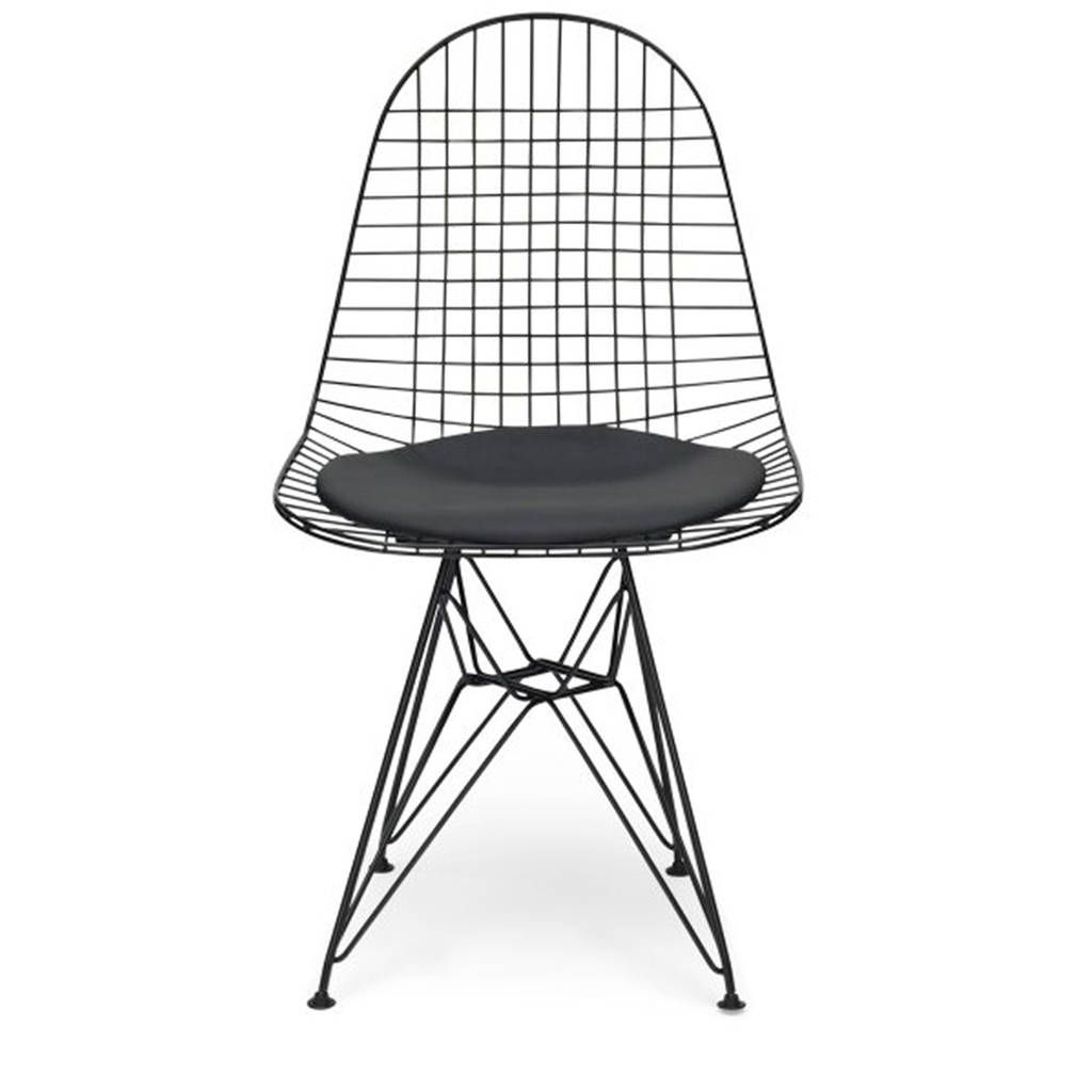 Exceptional Chair Metal Eames Style Dkr Wire Mesh Chair