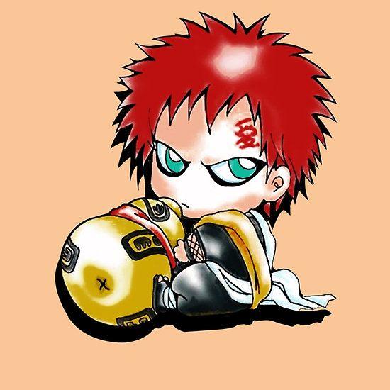 Gaara Baby By Bradixart Anime Chibi Chibi Gaara