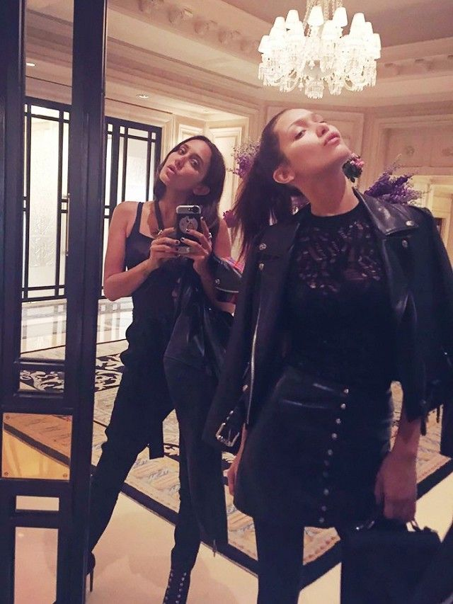 Image result for bella hadid with friends