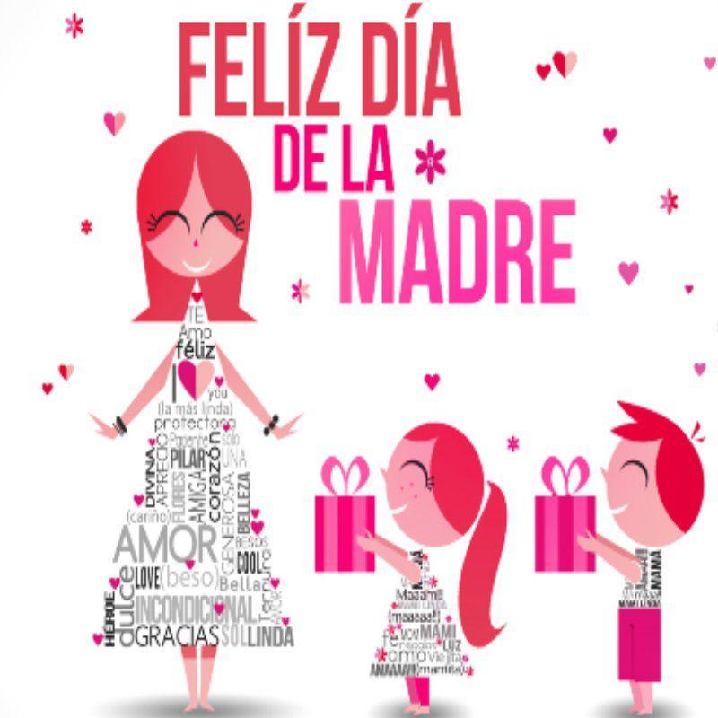 Frase feliz dia de la madre | Fa<3 | Pinterest | Feliz día de la ...
