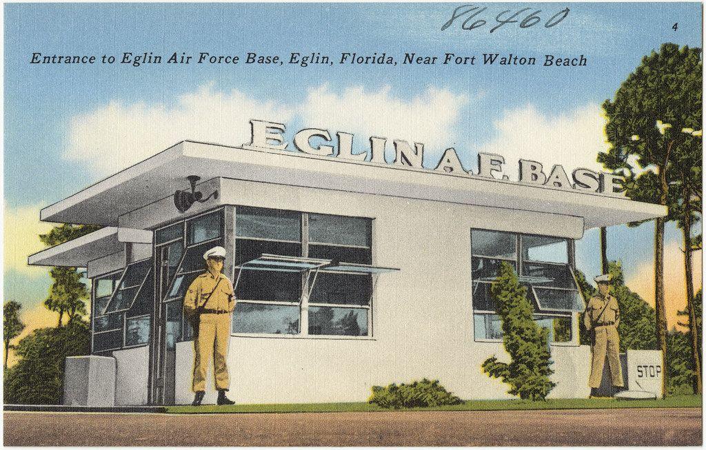 Entrance To Eglin Air Force Base Eglin Florida Near Fort Walton Beach Eglin Air Force Base Air Force Bases Fort Walton Beach