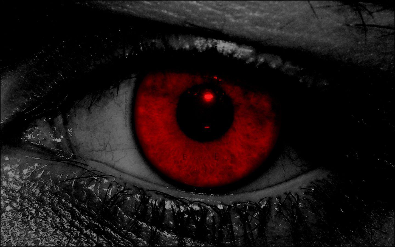 Гольц, картинка красные глаза