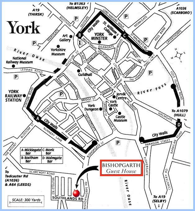 See the City Walls upon exit from Railway Station Part C can viewed when  visiting York
