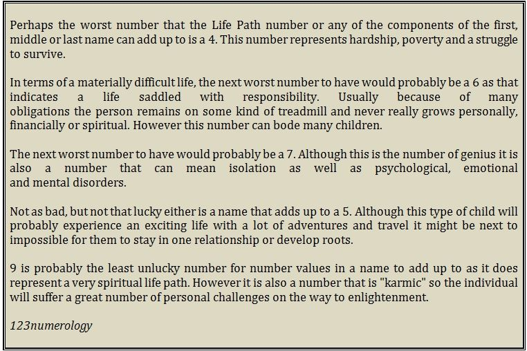 5a66fb5cb Life path - Which is the worst? | Numerology... | Numerology ...