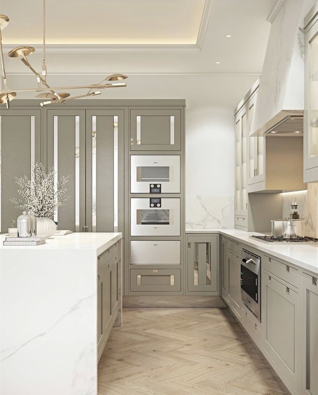 Smallbone Of Devizes On Instagram A Deep Elegance With Strong Finishing Touches This Macassar Collection Kitchen Combines In 2020 Beautiful Kitchens Devizes Kitchen