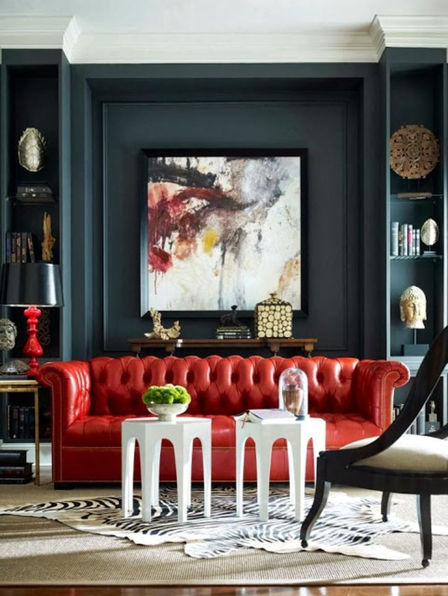 Pin On Home #red #and #green #living #room