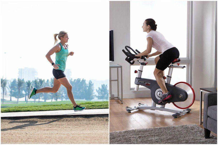 Best Cardio Workout Exercise Bike Vs Running Biking Workout