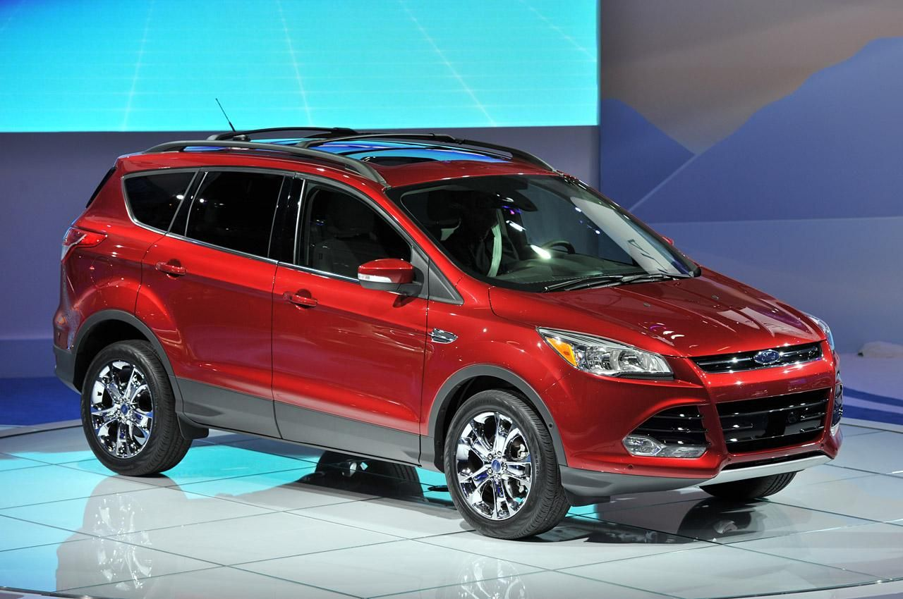 Ford Escape 2013 Not Red But Some Shade Of A Darker Metallic