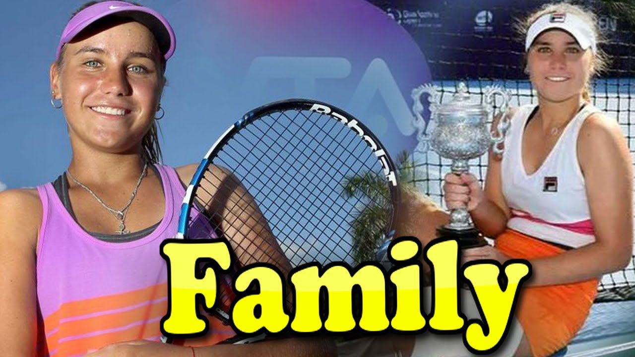 Sofia Kenin Family With Father Mother And Boyfriend 2020 In 2020 Sofia Sports Gallery Famous Sports