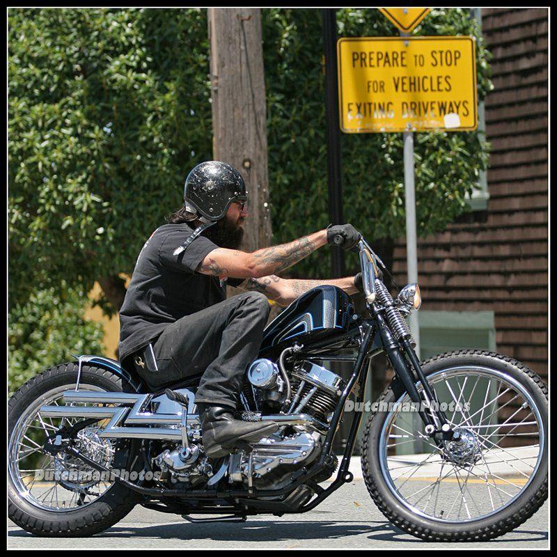 Panhead #Choppers #Biking #Motorcycling #Bobbers #Harley