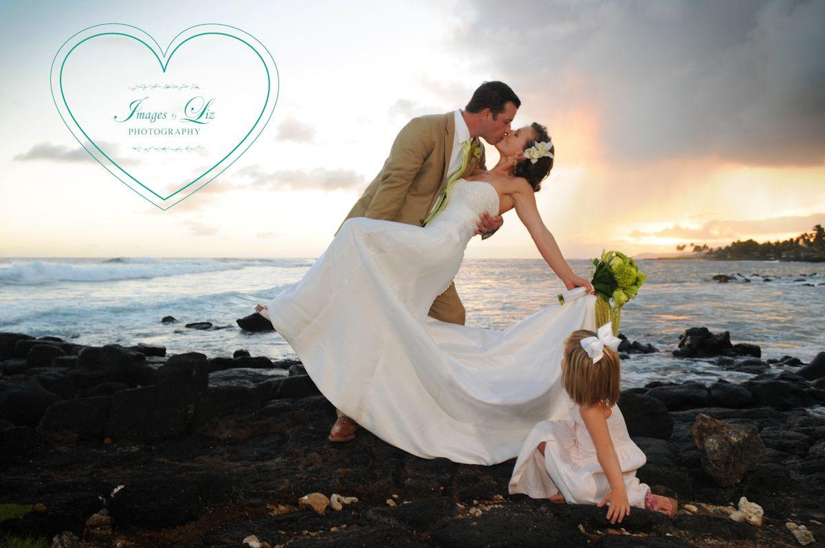 The Flower Watching A Sunset Dip On Beach House Kauai S