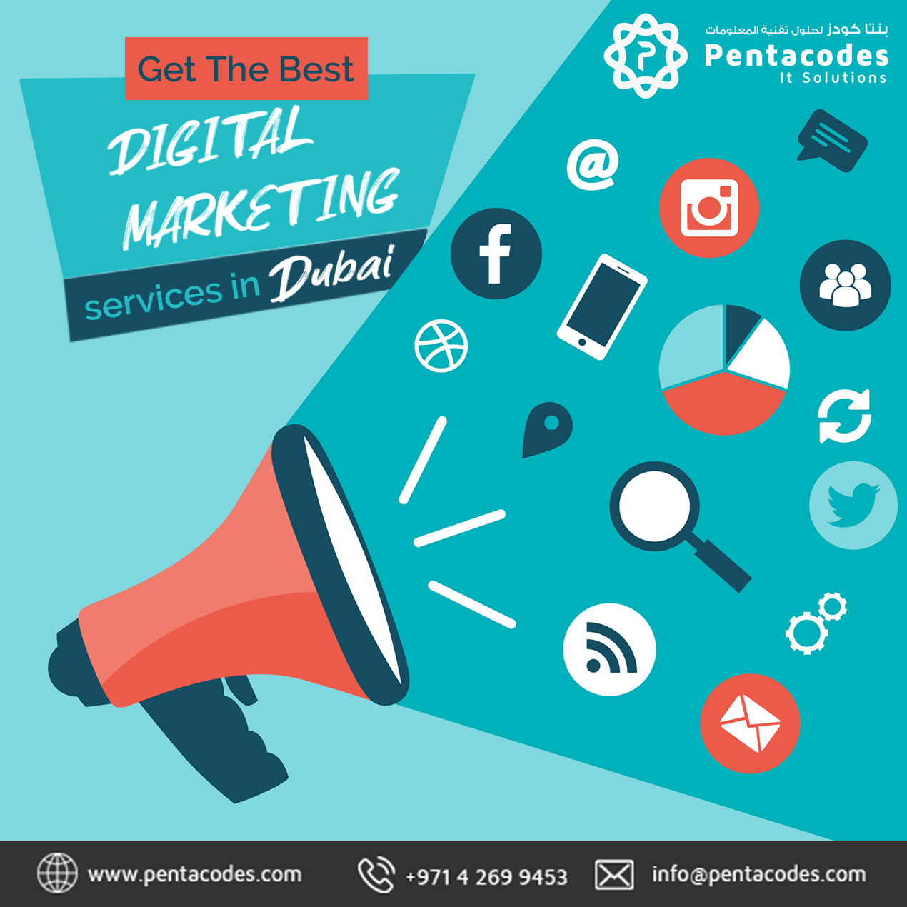 Want To Shout Out Your Business To The World Get Our Digital Marketing Services Right Now Dig Digital Marketing Digital Marketing Services Web Design Agency