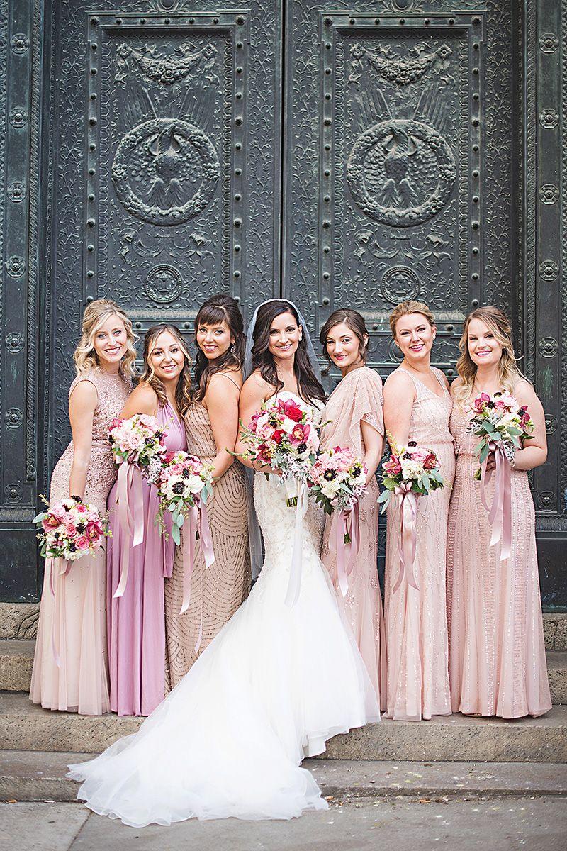 Eddy K. Bride Alisa CT151 Bridesmaid dresses marsala