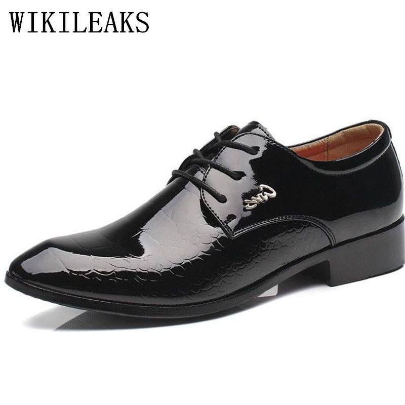 chaussure homme vernis noir pas cher