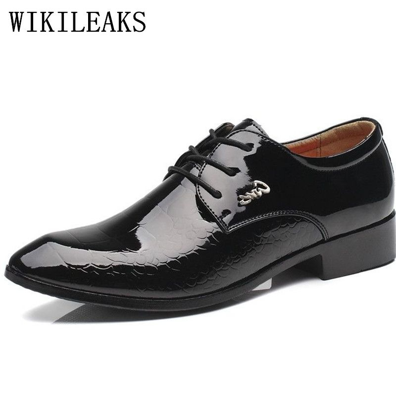 chaussures homme Cuir Pantoufle Marque De Luxe Moccasin hommes Grande ilrppx