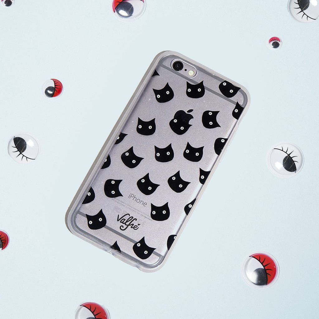 Bruno Gang iPhone 6/6s black cat case valfre.com