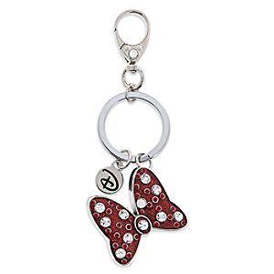 Minnie Mouse Bow Keychain by Disney Boutique  e3330d7fc6c2