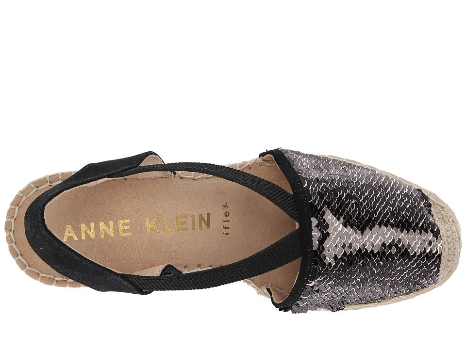 96d63afb92e5 Anne Klein Abbey. Anne Klein Abbey Women s Wedge Shoes Black Multi Fabric