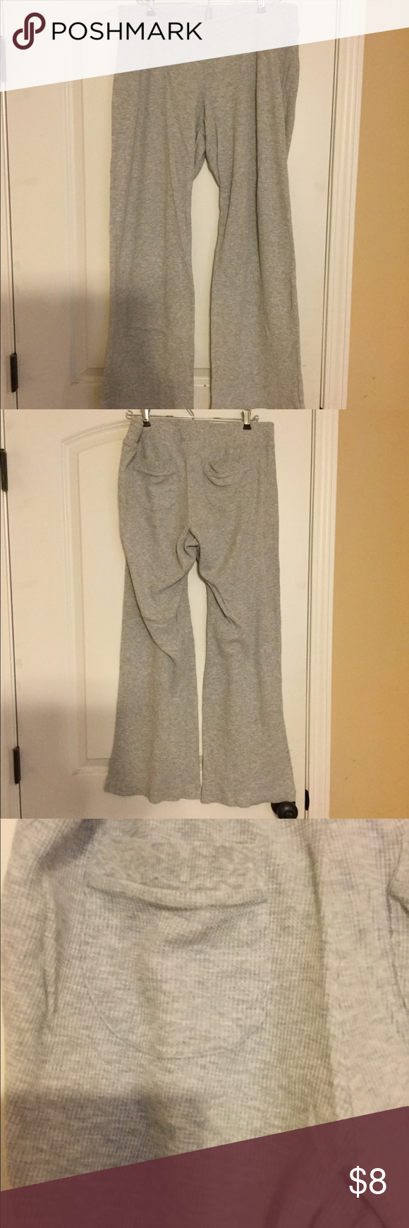 9613b6e0b7b93 EUC Maternity Lounge Pants Super comfortable, light gray, thermal-feel maternity  lounge pants. Under-belly waistband. Two rear pockets. Liz Lange for Target  ...