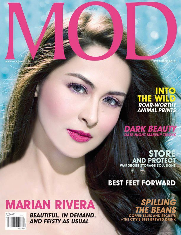 Showbiznest Marian Rivera Covers Mod Magazine November 2012 Issue Marian Rivera Beyond Beauty Date Night Makeup