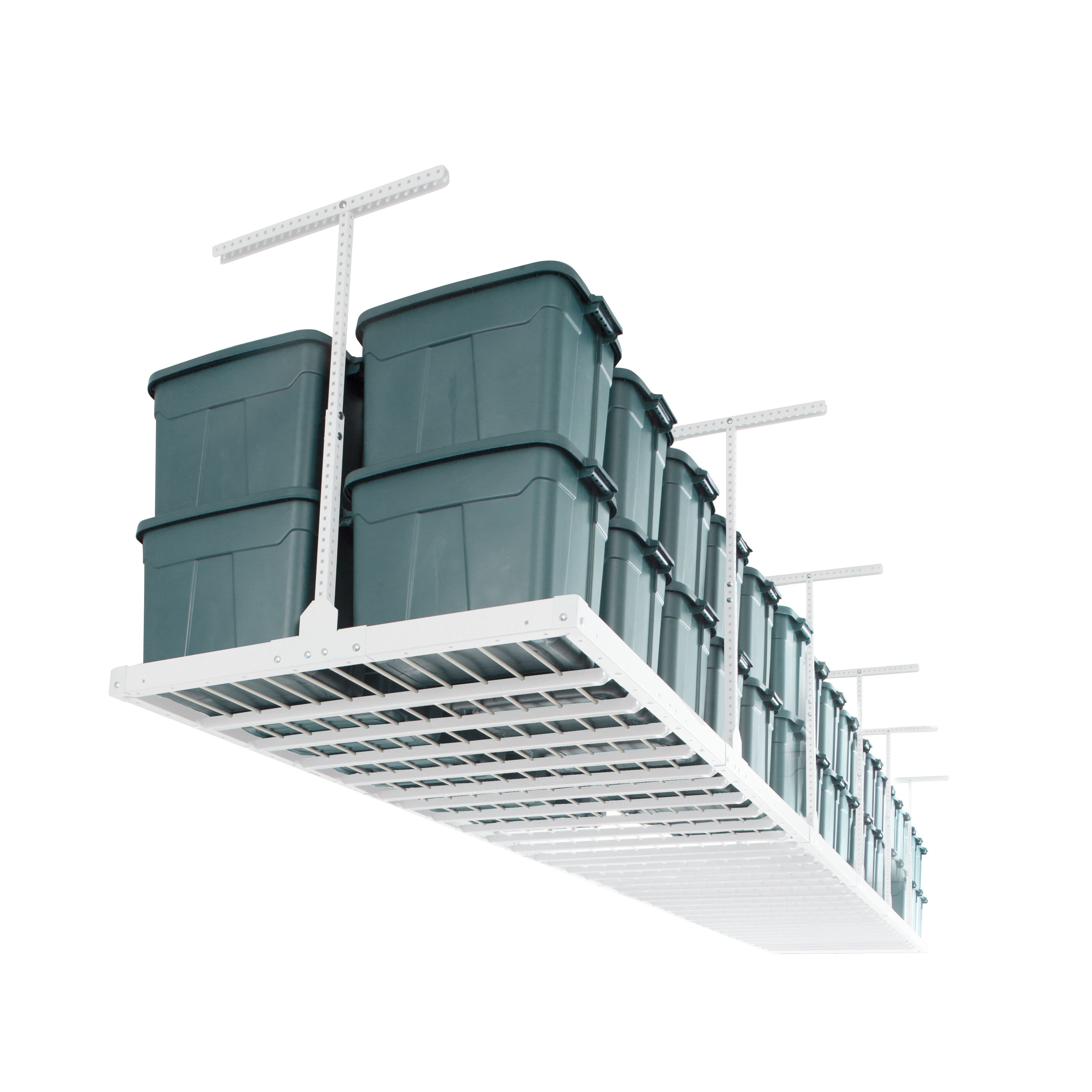 raw magnifier up gear to rack ceiling platinum steel floor storage