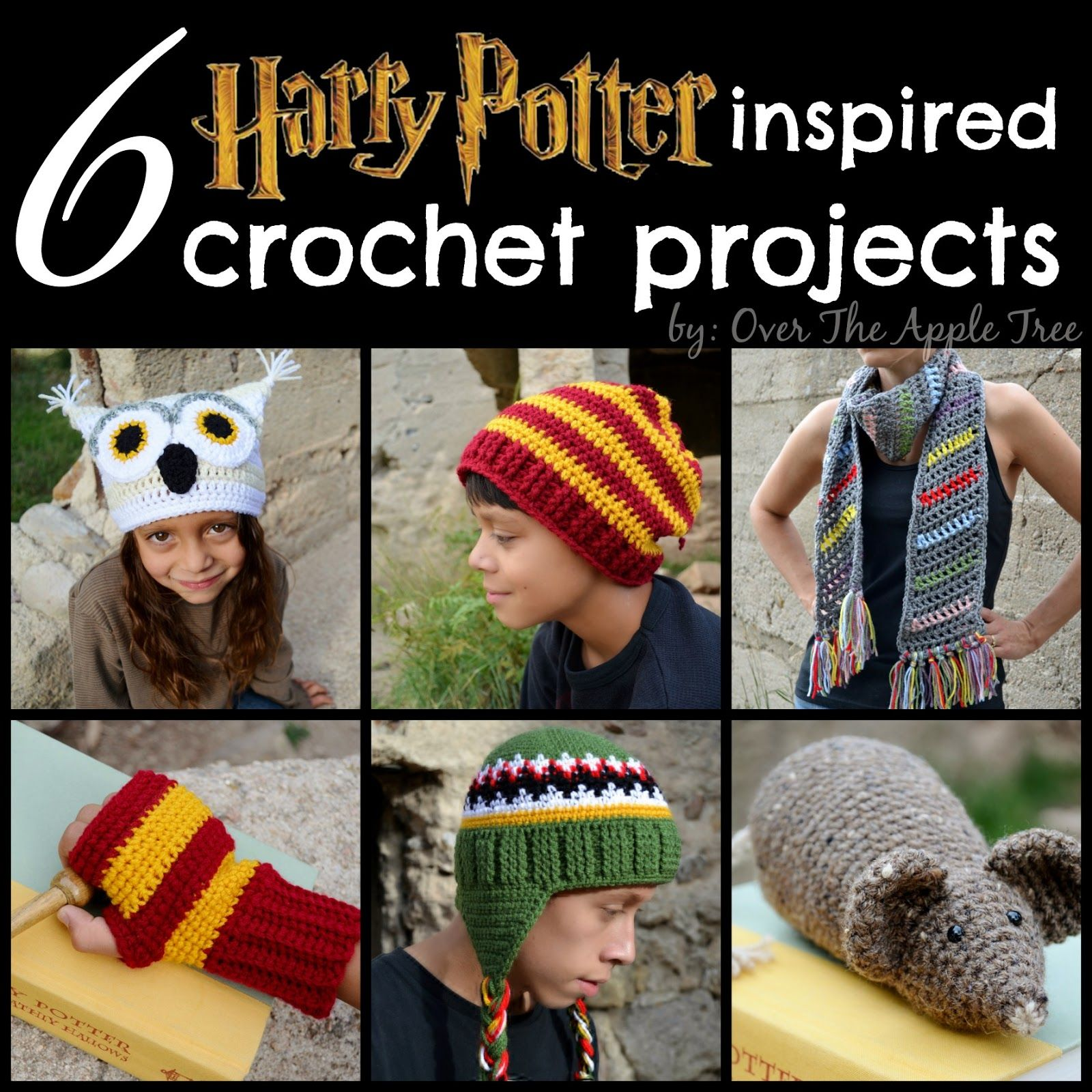 Over The Apple Tree: Harry Potter Inspired Crochet Projects | Over ...