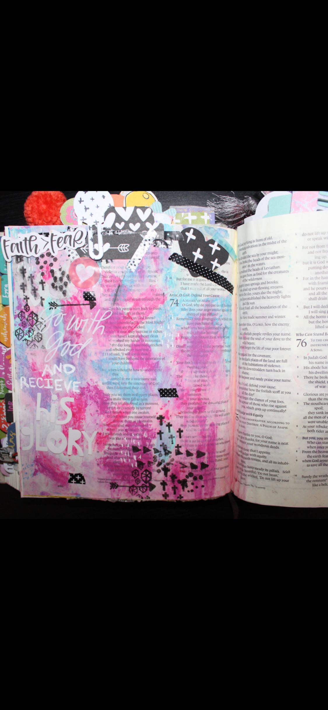 Love this! Worship Jesus in color!! | Bible journaling | Pinterest ...