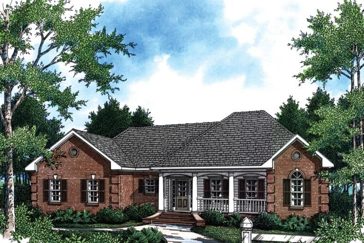 House Plan 348 00056 Country Plan 1 800 Square Feet 3