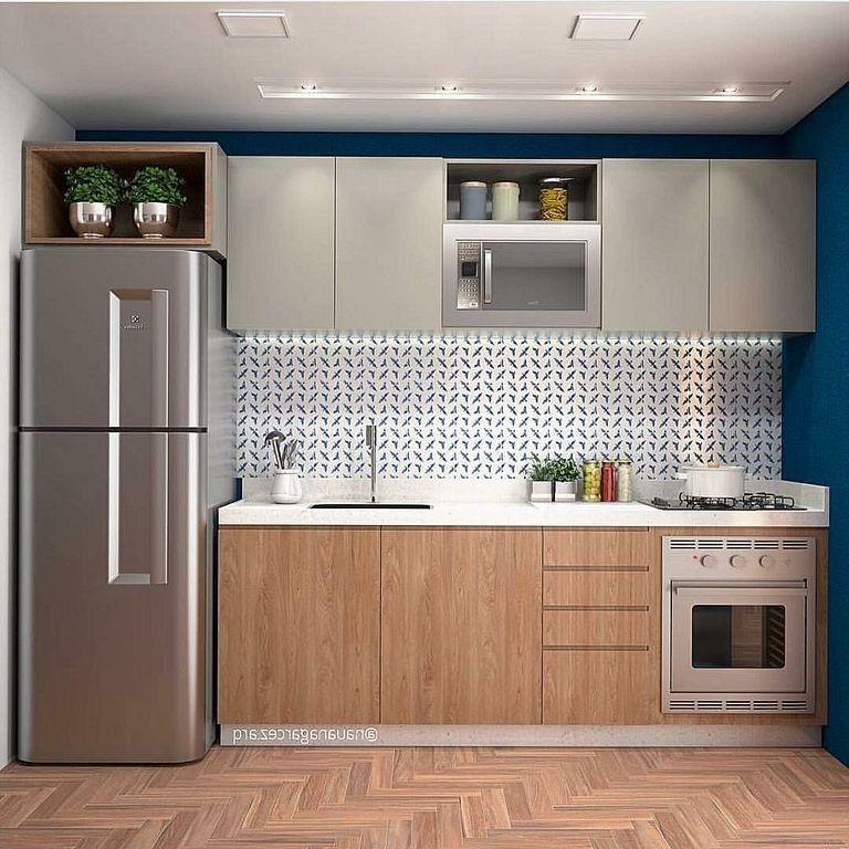 30 Elegant And Small Kitchen Set Design Ideas Kitchens