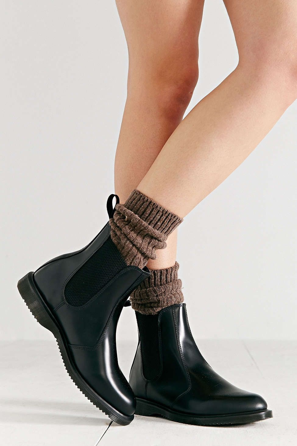 96b4e75bb1b ... womens shoes tight thigh high flat boots. Dr. Martens Flora Chelsea Ankle  Boot - Urban Outfitters LOVE these!! So pretty!! size 9