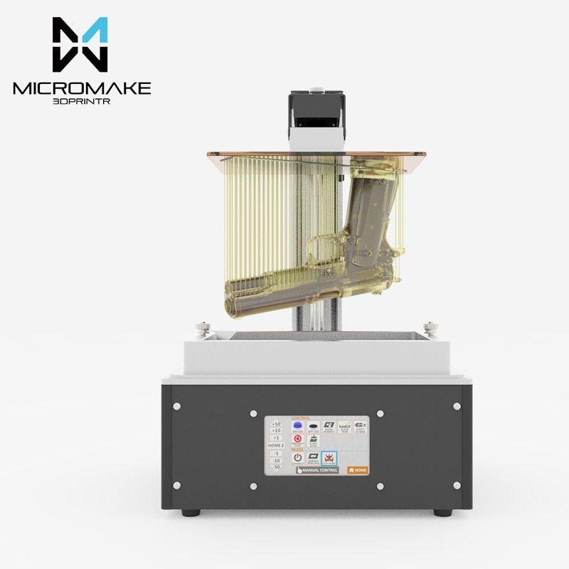 New Micromake UV light L4 LCD 3D printer large volume 24um