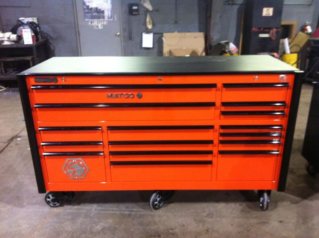 Cornwell Tool Cart Orange