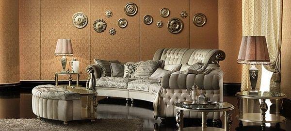 idee-salon-baroque-10 | Deco baroque | Pinterest | Salon design and ...
