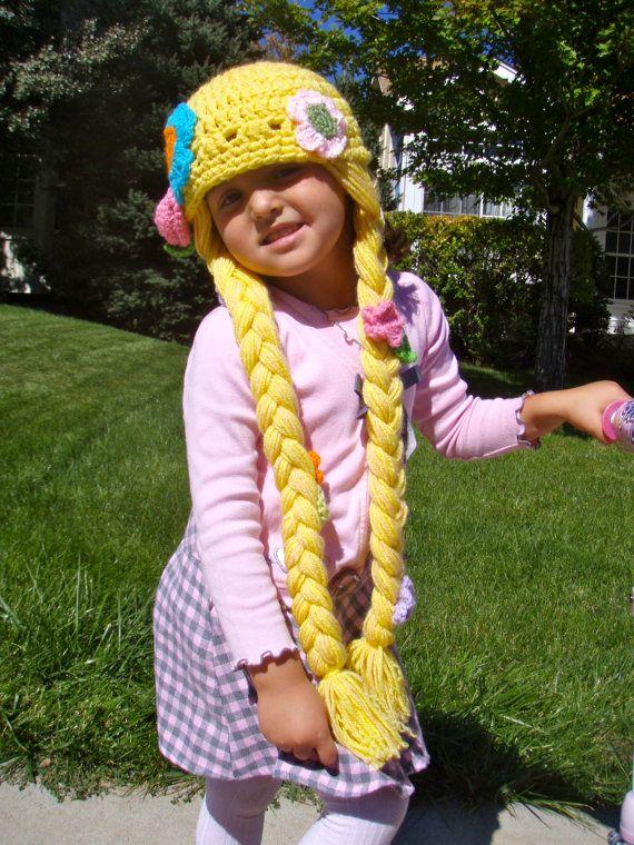 Crochet Rapunzel Hat | Häckeln