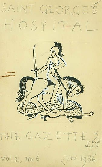 St George, by Eric Gill