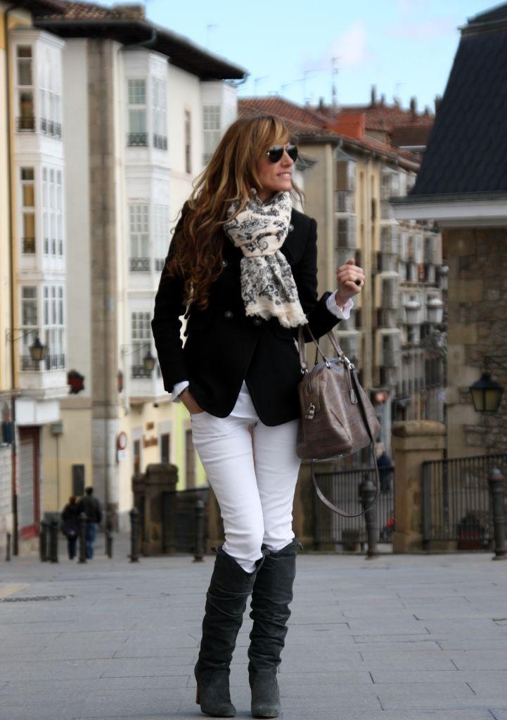 Rebel Attitude: white pants in winter?