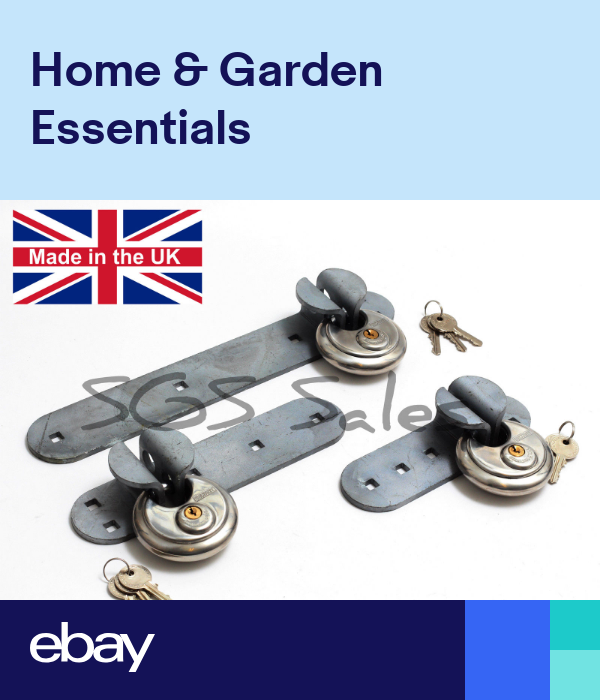 Galvanized High Security Hasp Discuss Padlock Fixings Shed