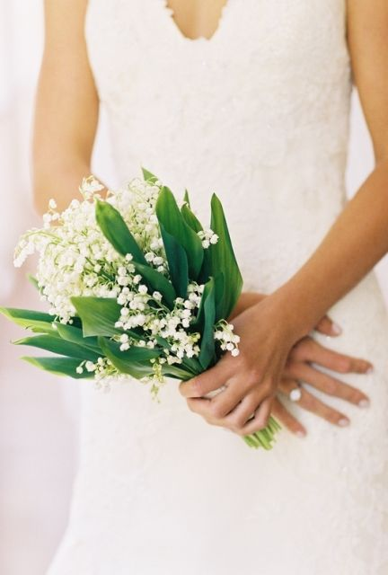 lily of the valley, perfect wedding flower