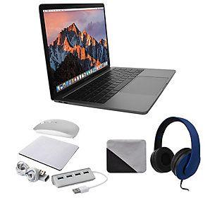 "2017 Apple Macbook Pro 13"" Retina 256GB Bundle - QVC.com"