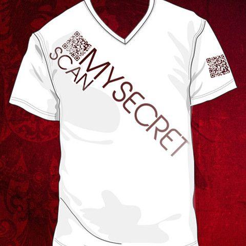 Scan my secret V neck T shirts for women, Mens tops, Tops