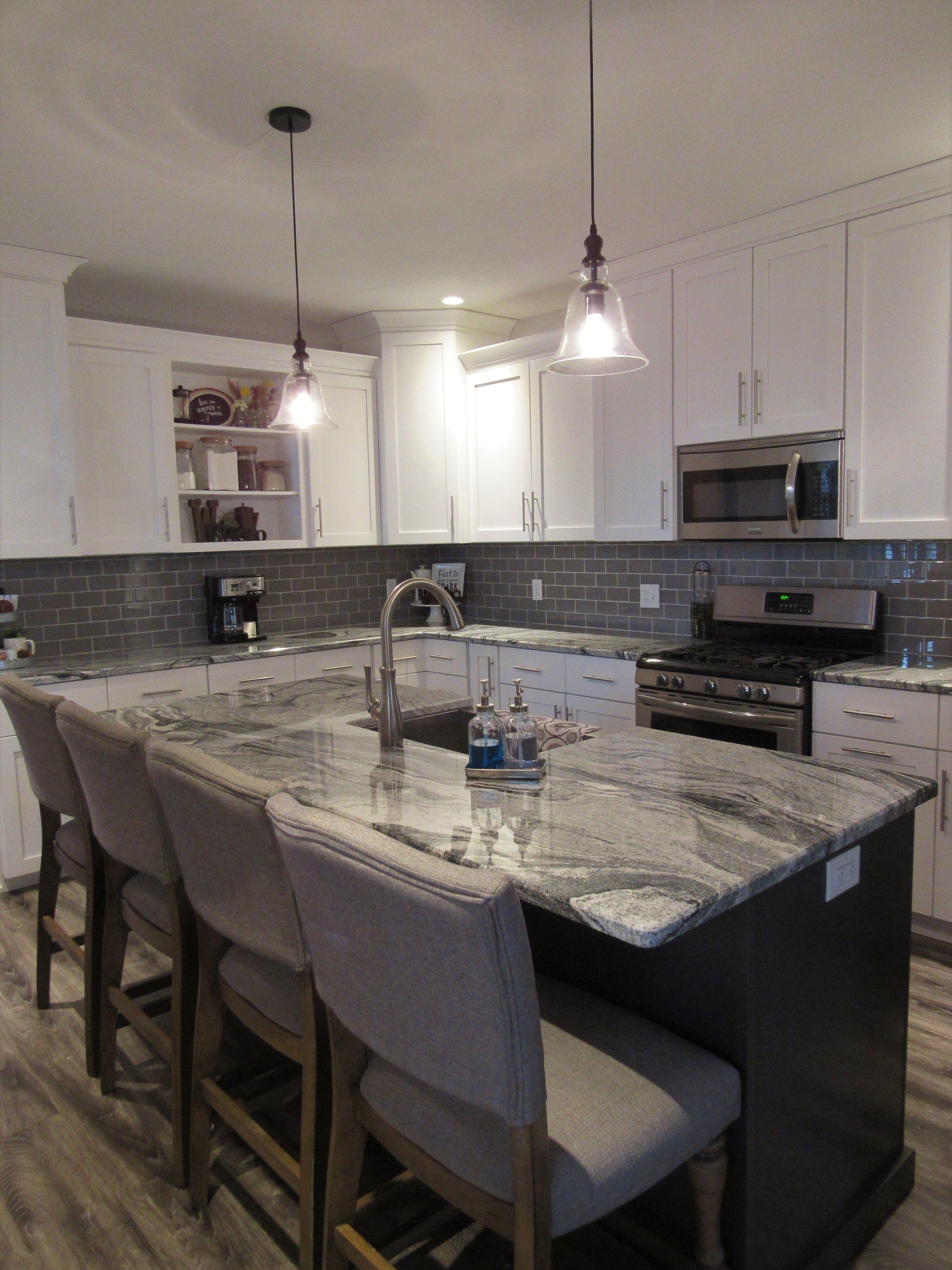 Modern Farmhouse Kitchen Remodel white shaker