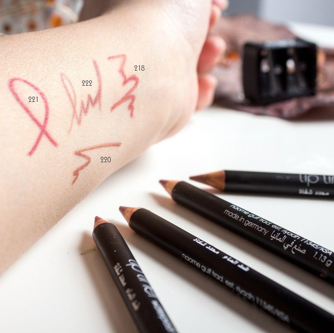 خمس درجات جديده لمحددات ليف الشهيره 218 219 220 221 222 New Collection Lipliner Lef 218 219 220 How To Make Lipstick Beauty