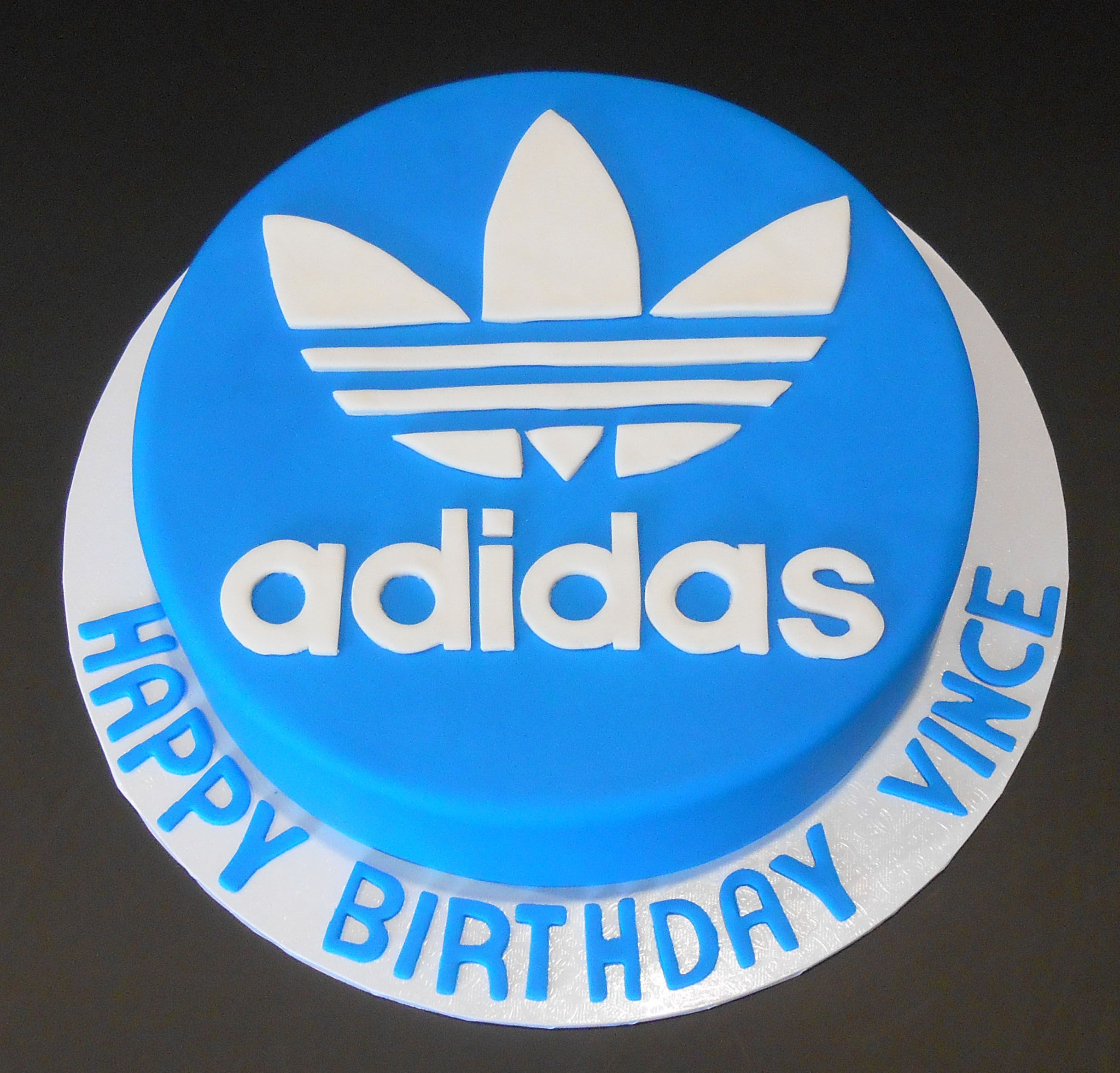 Adidas Birthday Cake By Nada S Cakes Canberra Sports