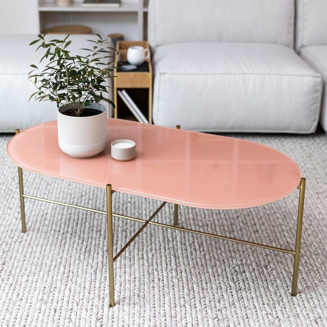 Article On Instagram Powder Pink Dining Chairs Yes Creamy Glass Coffee Tables Correct Silicustable Pink Dining Chairs Coffee Table Living Room Style [ 1080 x 1080 Pixel ]