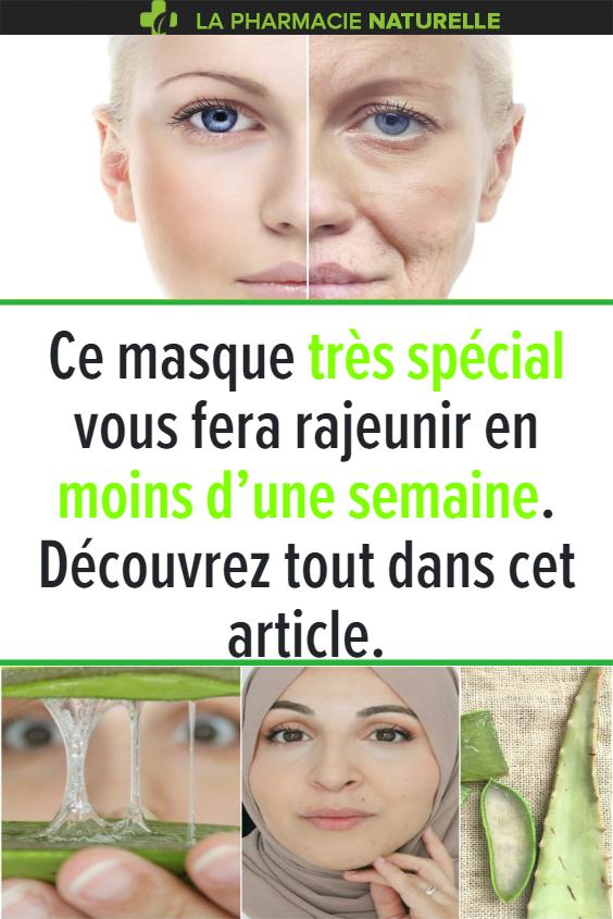 Ce Masque Tres Special Vous Fera Rajeunir En Moins D Une Semaine Decouvrez Tout Dans Cet Article Healthy