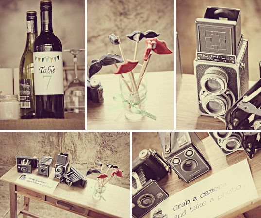 Vintage camera for decor. Photo: Kelly Daniels
