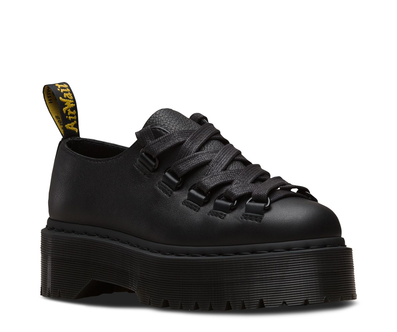 Bottines femme à lacets bout rond Plate-forme Casual Talon Compensé creepers Baskets Chaussures Taille