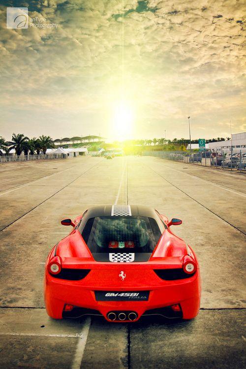 Ferrari Sunset.